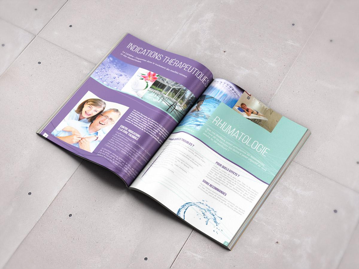 La Léchère brochure
