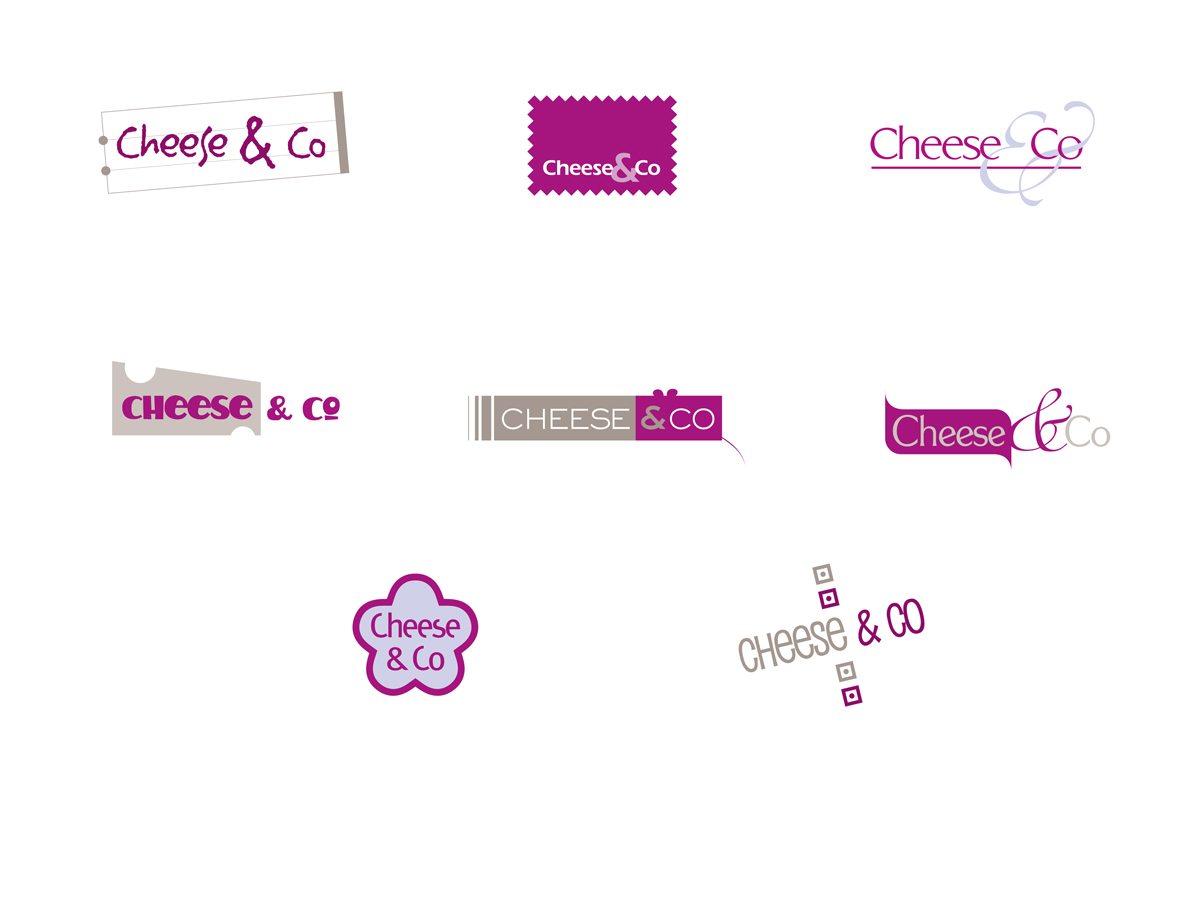 Cheese & Co planche logos