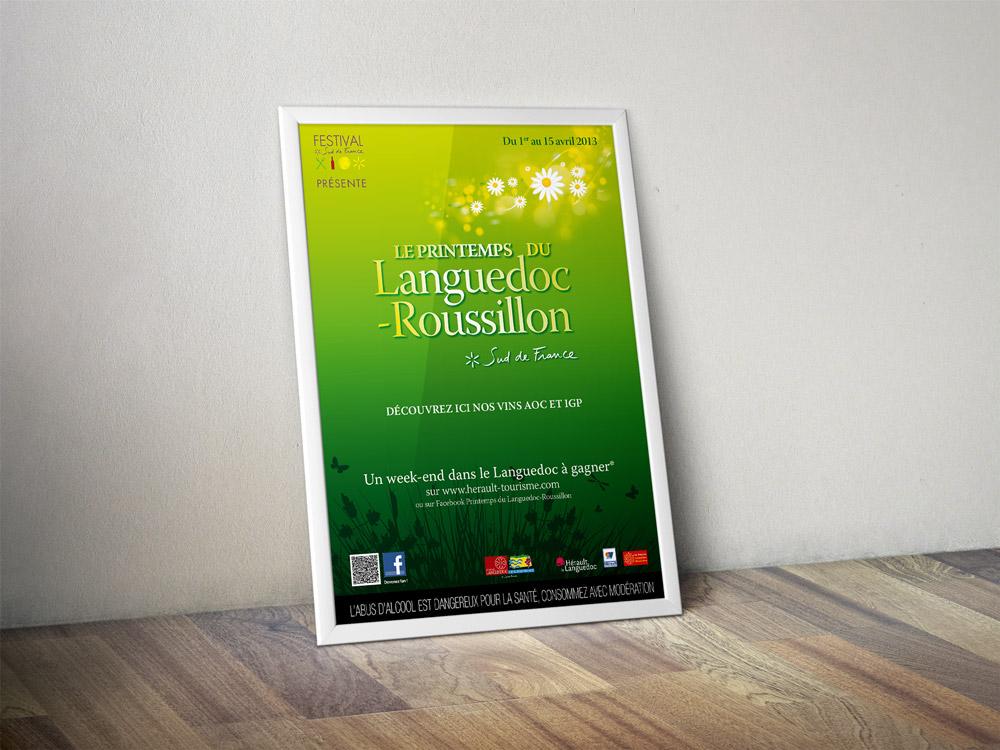 Affiche Printemps du Languedoc