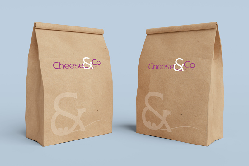 Sacs papier Cheese & Co