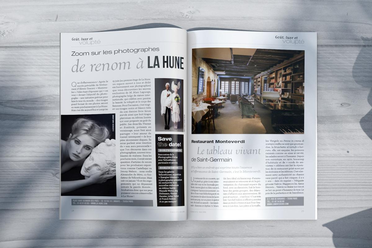 Cerise Magazine pages intérieures