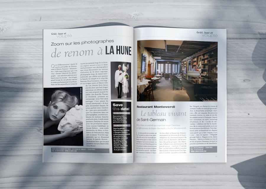 Magazine Cerise
