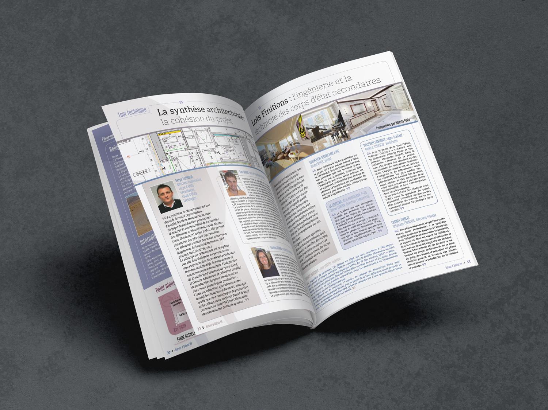 Magazine pages intérieures